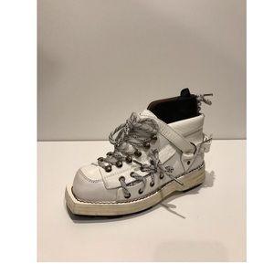 New Acne Studios Heidi Leather Boots